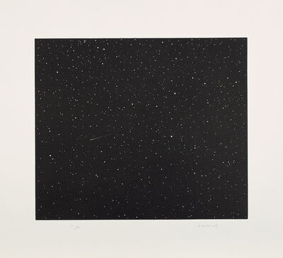 Vija Celmins, 'Comet, from Skowhegan suite', 1992