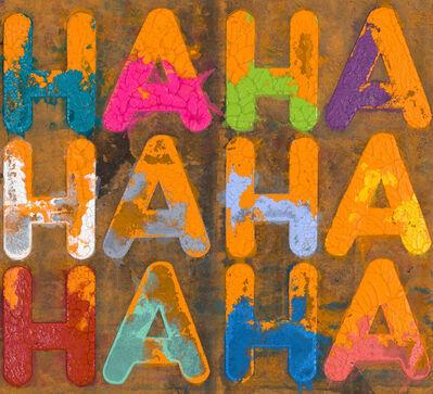 Mel Bochner, 'HA HA HA', 2020