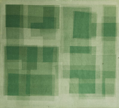 Nicolas Grospierre, 'Heliographia. Green', 2017