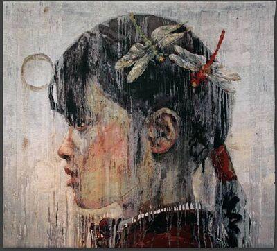 Hung Liu 刘虹, 'Rainmaker', 2011