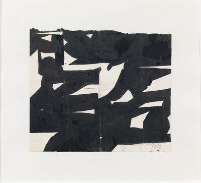 Jack Youngerman, 'Black White #1400', 1956