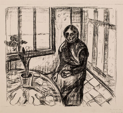 Edvard Munch, 'Melankoli. Laura II (Melancholy)', 1930