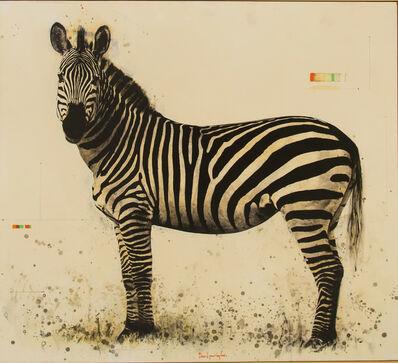 David Morago, 'Zebra', 2018