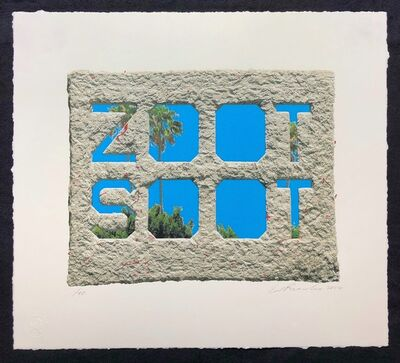 Ed Ruscha, 'Zoot Soot (Dedicated to the memory of Richard Duardo)', 2019