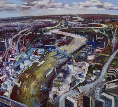 John Hartman, 'The Thames Looking Down River', 2006