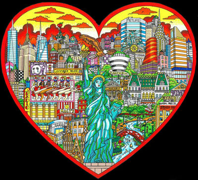 Charles Fazzino, 'Liberty stands tall in the heart of NYC', ca. 2016