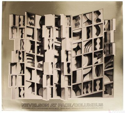 Louise Nevelson, 'At Pace Columbus (Gold)', 1977