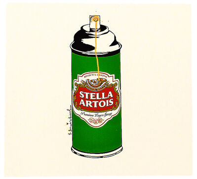 Mr. Brainwash, 'STELLA SPRAY (Screenprint)', 2016