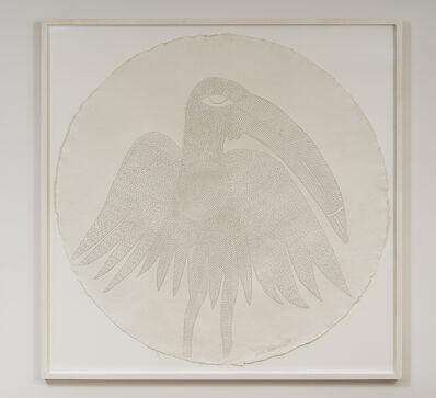 Victor Ehikhamenor, 'I am Ahiamen-oro, the bird of prophecy', 2017