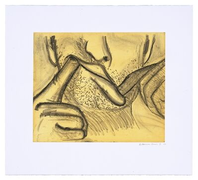 Bruce Nauman, 'Soft Ground Etching - Yellow', 2007