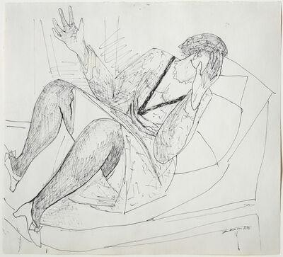Max Beckmann, 'Liegende', 1945