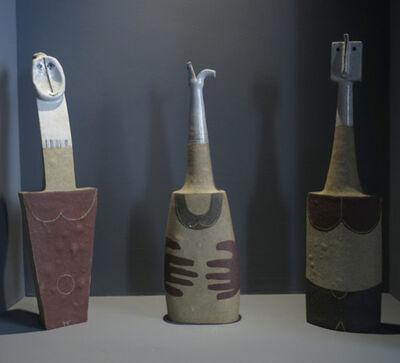 Bruno Gambone, '3 Sculptures, Female', ca. 1990
