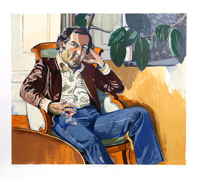 Alice Neel, 'The Accountant (Marvin)', 1981