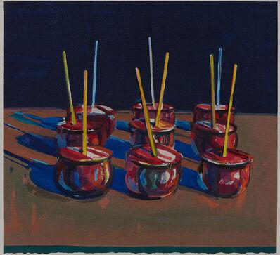 Wayne Thiebaud, 'Candy Apples', 1987