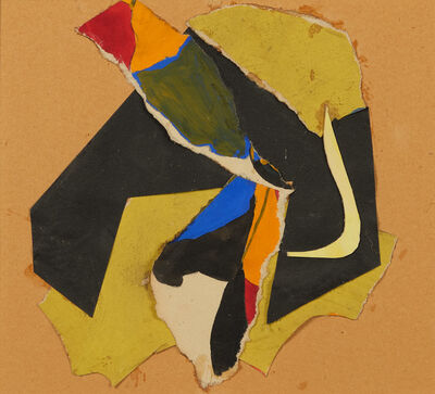 Beate Hulbeck, 'Composition (collage)'