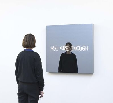 Jeppe Hein, 'You Are Enough (Handwritten)', 2020