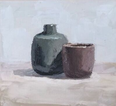 Brian Blackham, 'Cup With Jar on Table', 2020