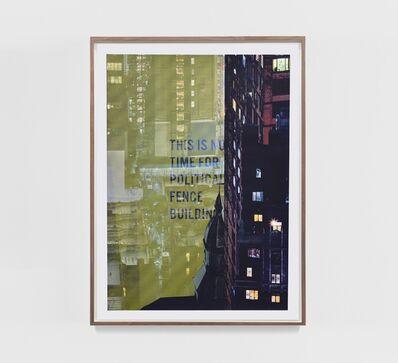 Sabine Hornig, 'Fence Building', 2020