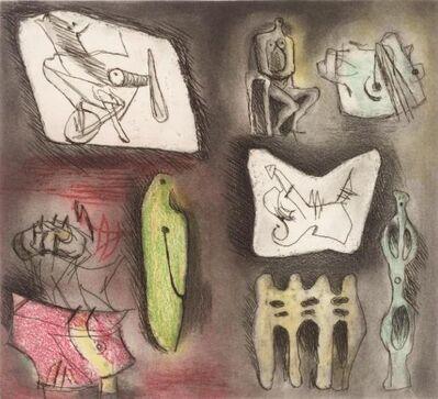 Henry Moore, 'Sculptural Ideas 3', 1980