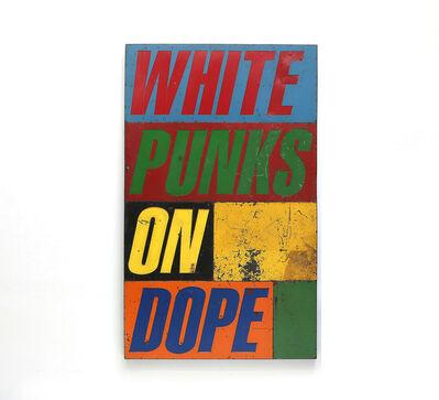 David Buckingham, 'White Punks On Dope', 2010