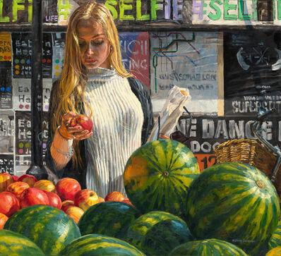 Michele Del Campo, 'The apple', 2016