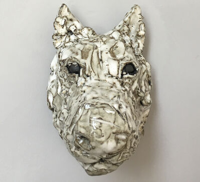 Raven Halfmoon, 'LITTLE WHITE WOLF', 2019