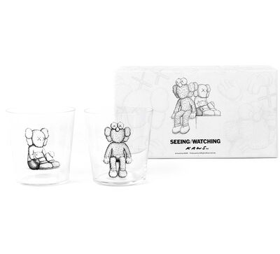 KAWS, 'Seeing/Watching Companion Glass Set', 2018