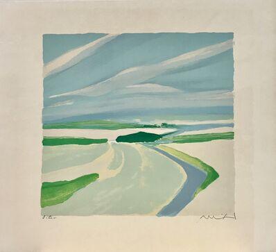 Roger Muhl, 'Open Provence landscape', ca. 1980