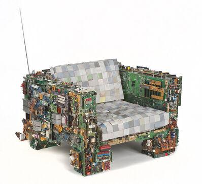 Benjamin Rollins Caldwell, 'Binary Chair 01', 2011