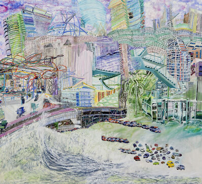 Olive Ayhens, 'Flecks in the Foam', 2012