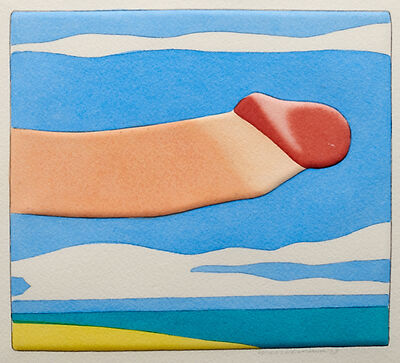 Tom Wesselmann, 'Seascape Prick, from Seascape Portfolio', 1978