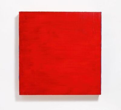 Rolf Rose, 'Untitled (Rot auf Blau)', 1997
