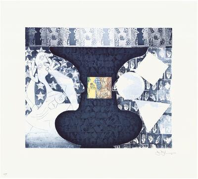 Jasper Johns, 'Shrinky Dink 3', 2011