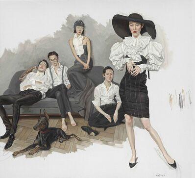 Chen Danqing, 'White Shirts', 2017