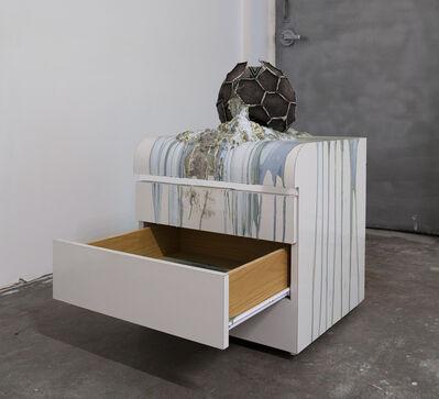 Bhakti Baxter, 'Imploded Ball Barf (deco drawer)', 2011
