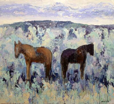 Theodore Waddell, 'Sagebrush Horses #5', 2010