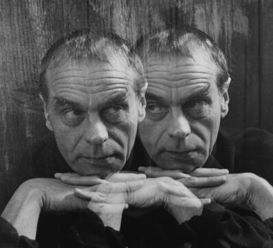 Imogen Cunningham, 'The Poet and His Alter Ego, 1962', 1990