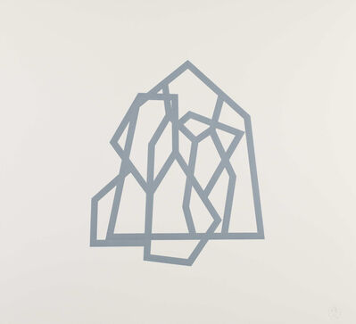 Richard Deacon, 'Bamako (Blue 20)', 2011-2012