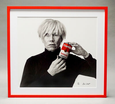 Andrew Unangst, 'Portrait of Andy Warhol (with Red Soup Can)', 1985-2018