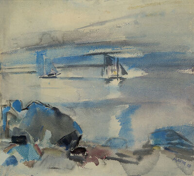 John Marin, 'Untitled (Seascape)', 1910
