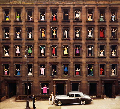 Ormond Gigli, 'Girls in Windows, New York', 1960