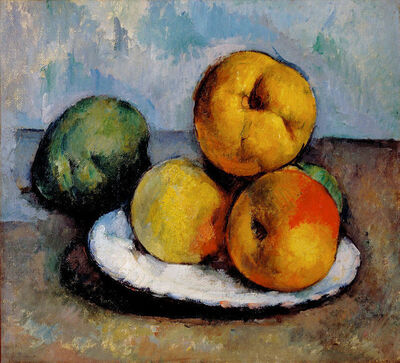 Paul Cézanne, 'Still Life with Quince, Apples, and Pears', ca. 1885-87