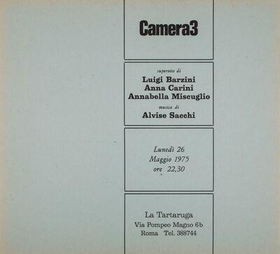 Miscuglio, 'Camera 3', 1975