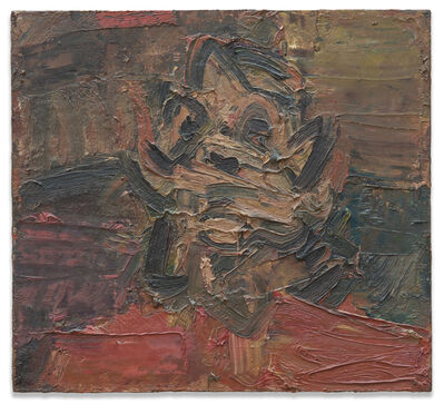 Frank Auerbach, 'Head of Jym III', 1981