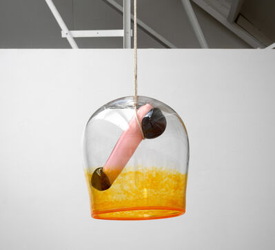 Maria Roosen, 'For whom the bell tolls (orange)', 2019