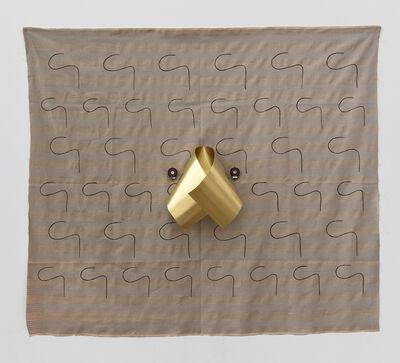 """Sergei Tcherepnin, '""""Thumb Ribbon (brass)""""', 2015"""