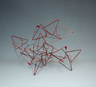 Nakatomi Hajime, 'Prism Triangle: Dot, Line, Plane', 2019