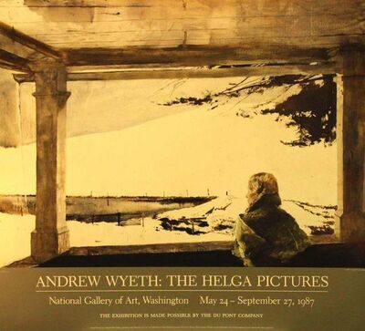 Andrew Wyeth, 'The Helga Pictures, National Gallery of Art, Washington, DC, May 24-September 27, 1987: Study For Easter Sunday', 1986