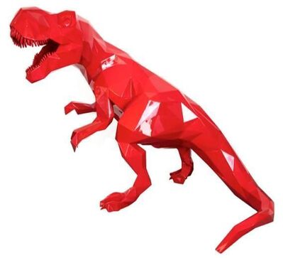 Richard Orlinski, 'T-Rex red'