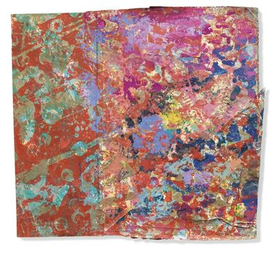 Sam Gilliam, 'Blowing Cool Red 2', 1974